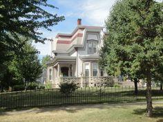 908 North Main - former Bennet Humiston home. Now the home of Dentist Karl & Carole Deterding 2011 ~ Pontiac, Illinois
