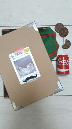 La Papa Box avec deux étiquettes à télécharger puis à coller et hop le tour est joué !