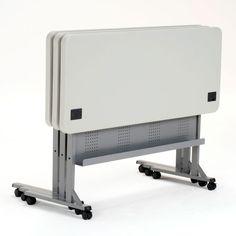 "Plastic Flip-n-store Table- 72"" X 24"""