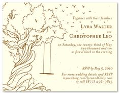 Shop old tree wedding invitations with a swing. Perfect for a warm wedding on a cheerful Summer Day, this wedding suite was designed with you in mind. With the trees in full bloom and birds flocking together to share the love, this classic invite Summer Wedding Invitations, Affordable Wedding Invitations, Affordable Wedding Venues, Recycled Wedding, Orchid Seeds, Wedding Entertainment, Entertainment Ideas, Seed Paper, Woodsy Wedding