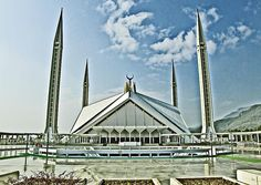 Top 10 Most Magnificent Mosques in the World - No 9. Shah Faisal Mosque, Islamabad, Pakistan.