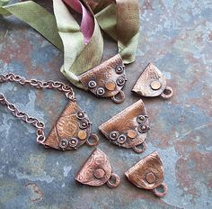 Experiments in Copper  Some things have been on my mind recently. Some copper things.