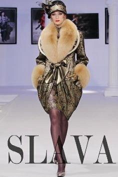 Russian fashion designer Slava Zaitsev