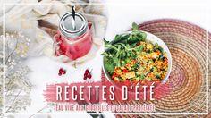 DEUX RECETTES D'ÉTÉ (TROP FACILES ET RAPIDES)
