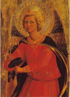 Fra Angelico: Engel mit Becken