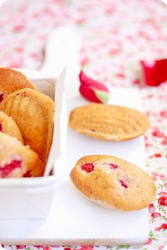 Pierre Hermé's Madeleines Ispahan by bossacafez, via Flickr