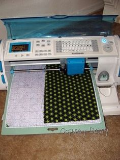 CUT FABRIC WITH CRICUT, I have got to try this! by marian