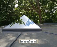 Two triple-glazed XACT Pure Glass Roof Lanterns installed on a flat roof rear extension at the Melford House Hotel, Farnborough. This lantern is a truly frameless, slimline product guaranteed to bring a wow factor to your property.