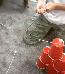 a game teaching kids about team work