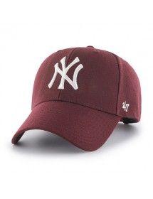 eb5a5d1eab261 Gorra 47 Brand unisex - New York Yankees Burdeos