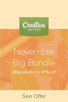 November big bundle includes 88 incredible products at 97% off. Included are $1,315 worth of goods for only $39!  Offer ends Nov 15.