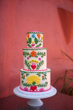 fiesta layer cake