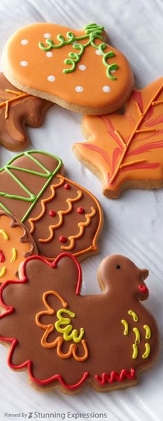 629 Awesome Fall Decorated Cookies Images Fall Cookies Decorated