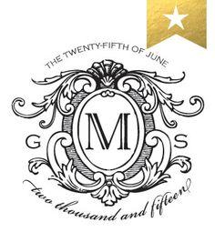 Love Logo #16 - Traditional Wedding Logo Design http://www.betsywhite.com/love-logo-16-1482-prd1.htm