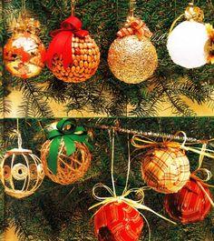 Decorazioni fai da te per l'albero di Natale
