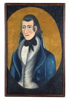 Portrait late 18th century.....Shelburn Museum