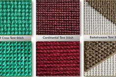 Patrón de tejer gratis para la bufanda Easy Seafaring Repeat de 2 filas Needlepoint Designs, Needlepoint Stitches, Needlepoint Canvases, Needlework, Tent Stitch, Simple Snowflake, Plastic Canvas Stitches, Darning, Design Your Own