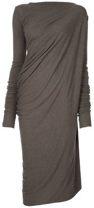 Rick Owens Lilies Drape side dress