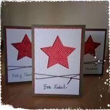 Resultado de imagen de tarjetas de navidad hechas a mano