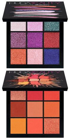 Huda Beauty Obsessions Eyeshadow Palette Two New Shades Launched – Musings of a Muse Makeup Blog, Beauty Makeup, Eye Makeup, Makeup Tips, Makeup Brands, Best Makeup Products, Maquiagem Too Faced, Makeup Remover, Makeup Brushes