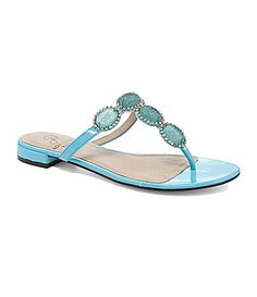 """Adrianna Papell Maia Jeweled Sandals (In """"Tangerine"""") Jeweled Sandals, Adrianna Papell, Dillards, Jewels, Shoe Bag, Bags, Shoes, Handbags, Zapatos"""