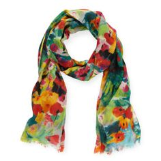 kate spade | abstract rose scarf  I'm not really a scarf person, but I think I may need this anyway. Damn you Kate!