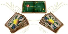 """A shot of our """"Famous Forehand"""" tennis game in play."""