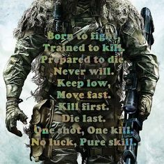 Soldier Quotes, Army Quotes, Motivational Military Quotes, Military Memes, Military Life, Le Sniper, Wisdom Quotes, Life Quotes, Great Quotes