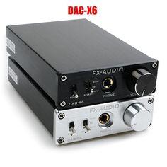 FX-AUDIO DAC-X6 HiFi 2.0 Digital Audio amplifier