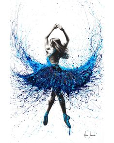 York Crystal Dance by Ashvin Harrison is printed with premium inks for brilliant color and then hand-stretched over museum quality stretcher bars. Money Back Guarantee AND Free Return Shipping. Ballet Painting, Dance Paintings, Ballet Art, Acrylic Paintings, Dancing Drawings, Art Drawings, Ballet Drawings, Ballerina Kunst, Dance Pictures