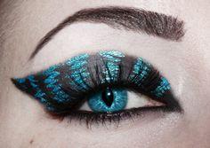cheshire cat eye contacts | blue, cat eye , cheshire cat, eye, lenses - inspiring picture on Favim ...