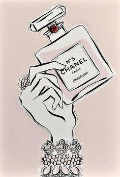 Chanel No.5 by Megan Hess