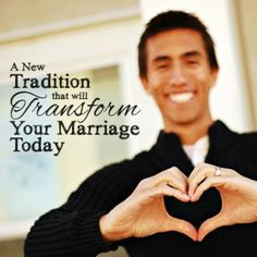 A fun little marriage tradition to start Really really love this idea!!!