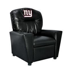 Kids' Recliners - Imperial Officially Licensed NFL Furniture PreTeen Faux Leather Recliner New York Giants *** See this great product.