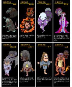 日本妖怪 四十七士