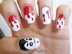 halloween nail art | hope you like it!