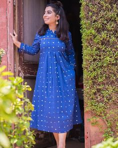Living in a dream . Stylish Dress Designs, Stylish Dresses, A Line Kurti, Saree Gown, Poppy Dress, Office Outfits Women, Tie And Dye, Oversized Dress, One Piece Dress