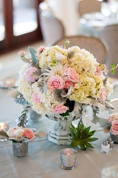 Eclectic and beautiful arrangements by Sayles Livingston Flowers.