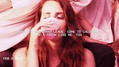 Freak Lana Del Rey Lyrics