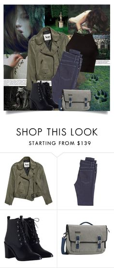 """Dark Frost"" by sharoosanguinetti ❤ liked on Polyvore featuring Tremp, Acne Studios, McGuire Denim, Zimmermann and Timbuk2"