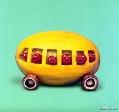 vegetable art :)