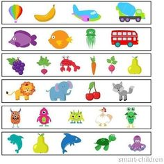 Which one does not match? Montessori Activities, Therapy Activities, Toddler Activities, Speech Language Therapy, Speech And Language, English Lessons For Kids, Bible Coloring Pages, Cartoon Toys, Hidden Pictures