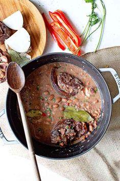 Southern Pinto Beans with Ham Hocks (Just like Grandma's Recipe)