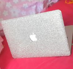 Check out this item in my Etsy shop https://www.etsy.com/listing/195790329/macbook-case-handmade-bling-clear