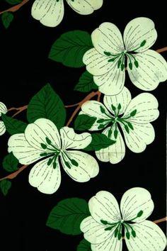 Porin puuvilla fabric by Raili Konttinen  1973