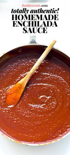 A mix of dried chiles and Mexican spices create the best quick and easy authentic homemade red enchilada sauce for enchiladas, chilaquiles and more. Sauce Enchilada, Recipes With Enchilada Sauce, Homemade Enchilada Sauce, Homemade Enchiladas, Homemade Sauce, Enchilada Seasoning Recipe, Authentic Mexican Recipes, Mexican Salsa Recipes, Mexican Dishes