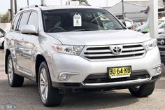 2013 Toyota Kluger Grande MY12 Sports Automatic 2WD