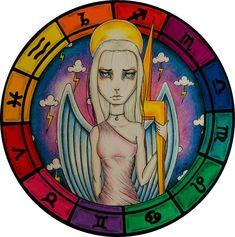 """Signos del Zodíaco"" By Cm Art - Marianella Camilletti on Behance"