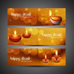 Vector abstract beautiful glowing happy diwali banner for website with beautiful…