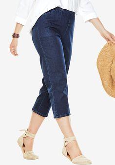 dd480a6f4bf02 Capri Fineline Jean - Women s Plus Size Clothing Plus Size Shorts